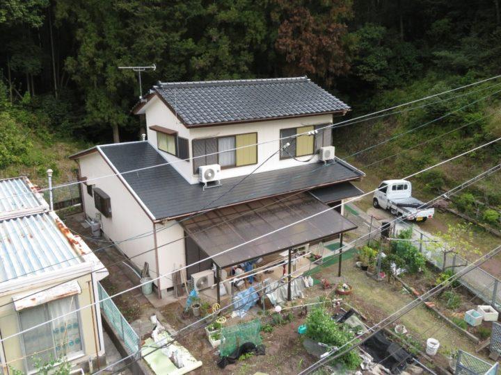 南国市 t様邸 屋根塗装工事