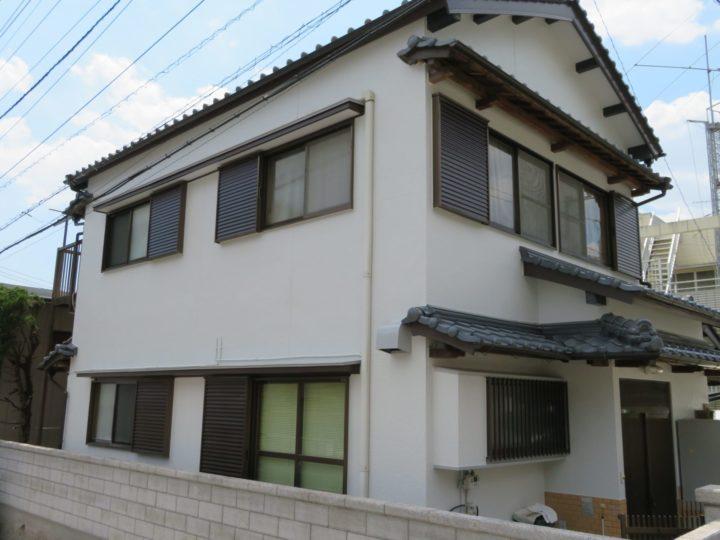 高知市西秦泉寺 y様邸 屋根塗装 外壁塗装工事