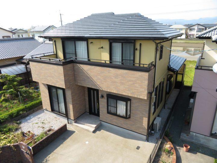 香南市野市町 k様邸  屋根塗装 外壁塗装工事
