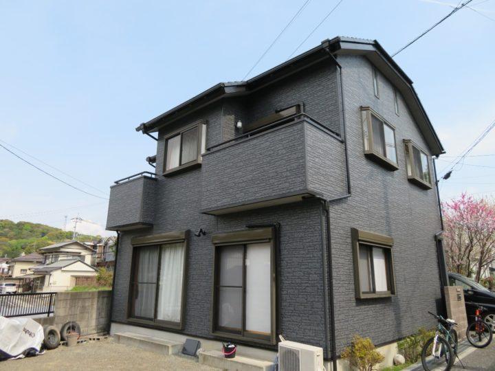 高知市大津 t様邸 屋根塗装 外壁塗装 ベランダ防水工事