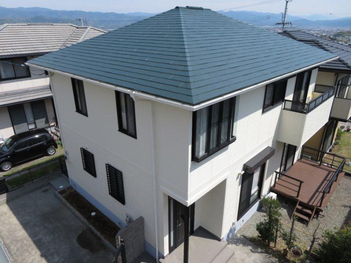 高知市潮見台 k様邸 屋根塗装 外壁塗装工事