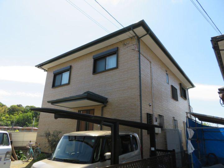 高知市一宮 y様邸 屋根塗装 外壁塗装工事