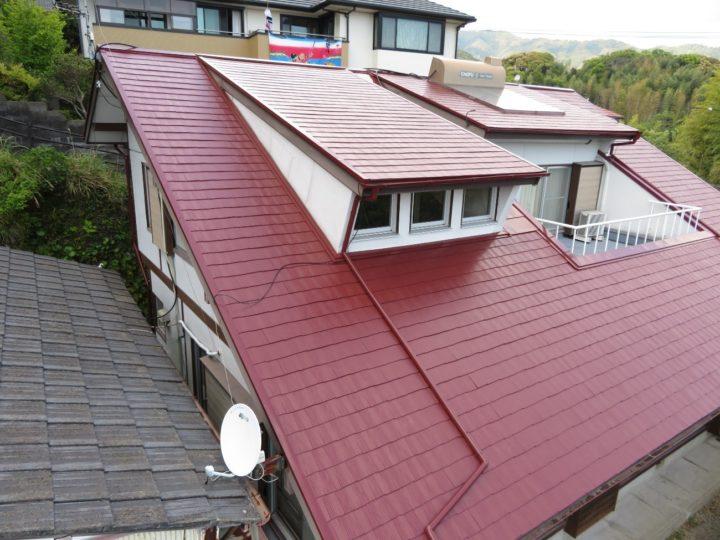 高知市東久万 f様邸 屋根塗装工事