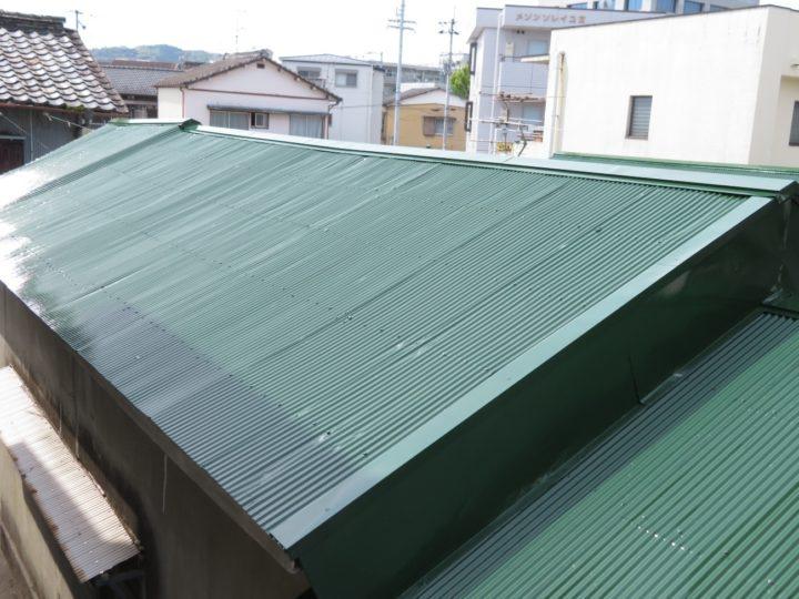 高知市曙町 s様邸 屋根塗装工事