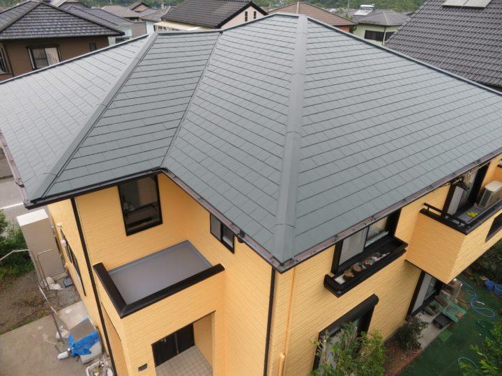 いの町 k様邸 屋根塗装 外壁塗装工事
