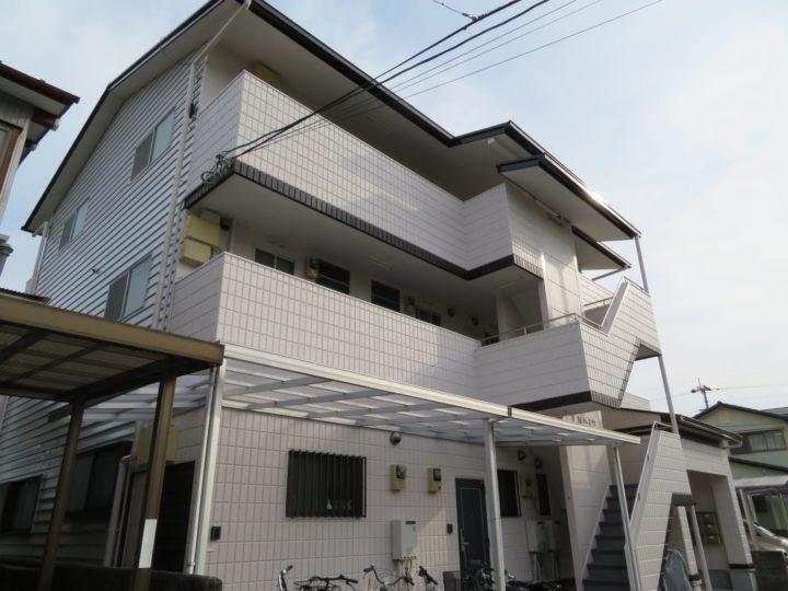高知市朝倉 yハイツ 屋根塗装 外壁塗装工事