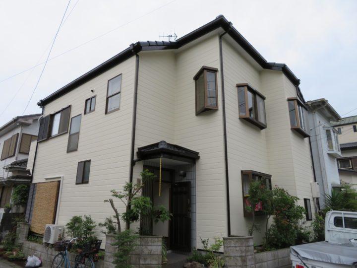 高知市西久万 u様邸 屋根塗装 外壁塗装工事