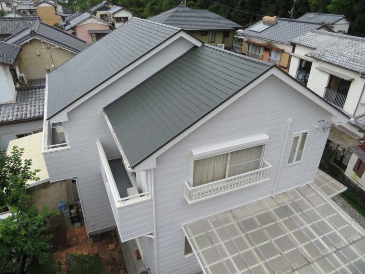 高知市浦戸 h様邸 屋根塗装 外壁塗装工事
