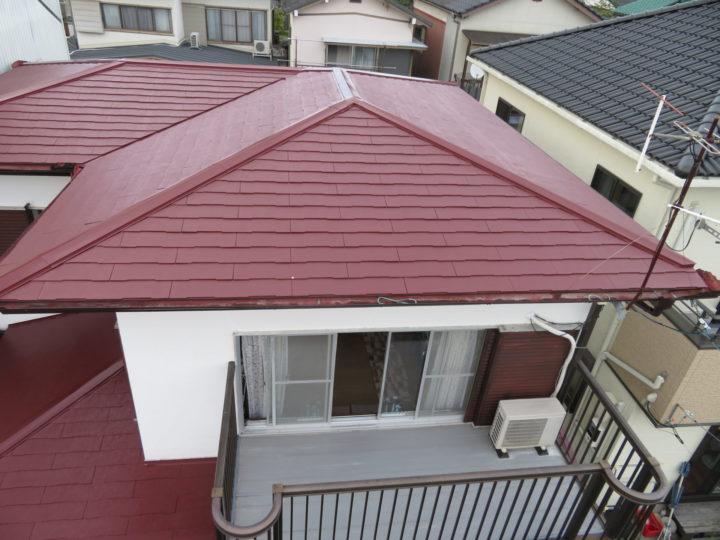 高知市福井町 t様邸 屋根塗装工事