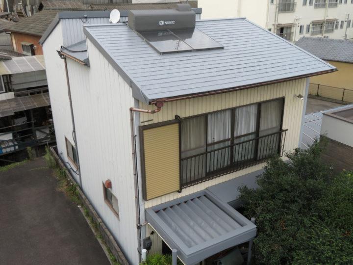 高知市旭町 k様邸 屋根塗装工事