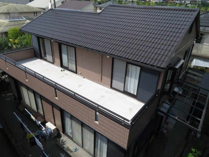 高知市春野町 k様邸 屋根塗装 外壁塗装工事