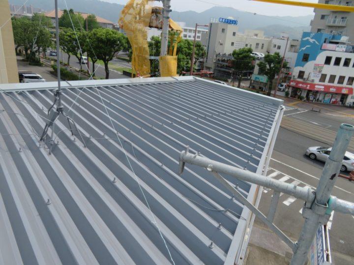 高知市桟橋 i様邸 屋根塗装工事