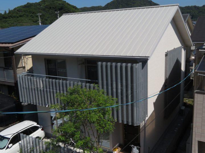 高知市池 w様邸 屋根塗装 外壁塗装工事