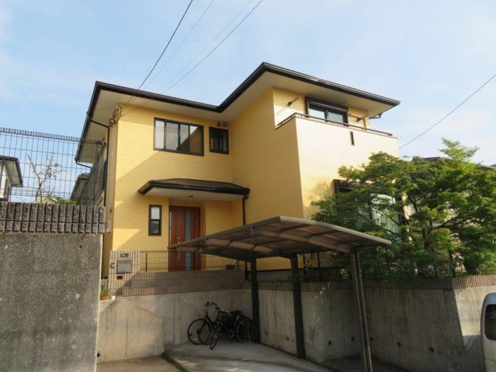 高知市みづき k様邸 屋根塗装 外壁塗装工事
