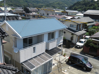 香南市野市町 s様邸 屋根塗装工事