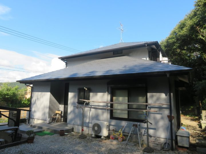南国市 i様邸 屋根塗装 外壁塗装 ベランダ防水工事