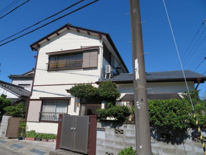 高知市介良 h様邸 屋根塗装 外壁塗装工事