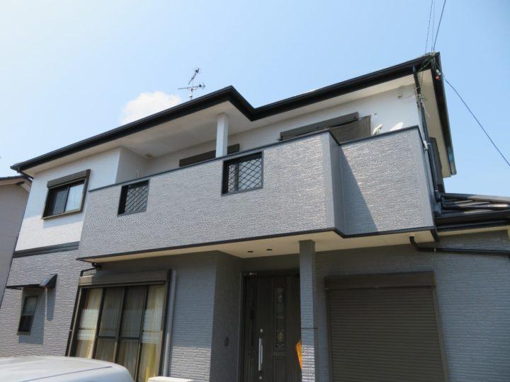 高知市仁井田 k様邸 外壁塗装工事
