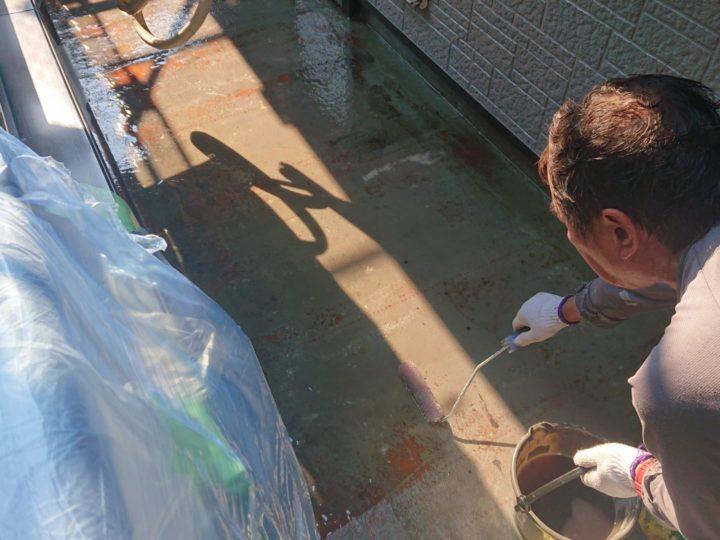 ベランダFRP防水改修