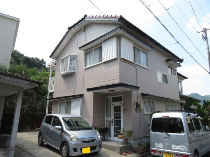 高知市神田 y様邸 屋根塗装 外壁塗装 4回塗りで丁寧に仕上げてあります
