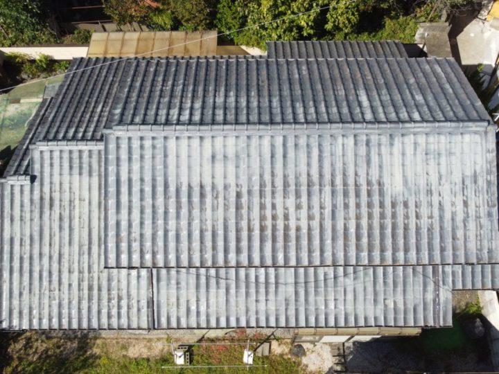 屋根ドローン調査高知市