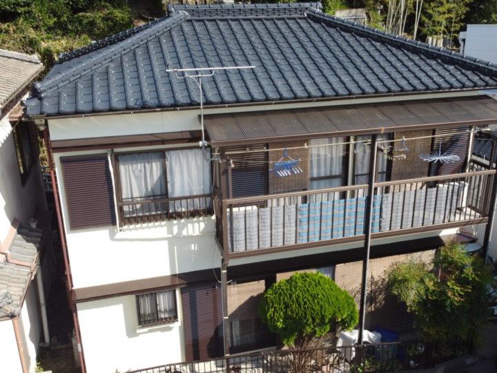 高知市高見町 y様邸 屋根塗装 外壁塗装工事