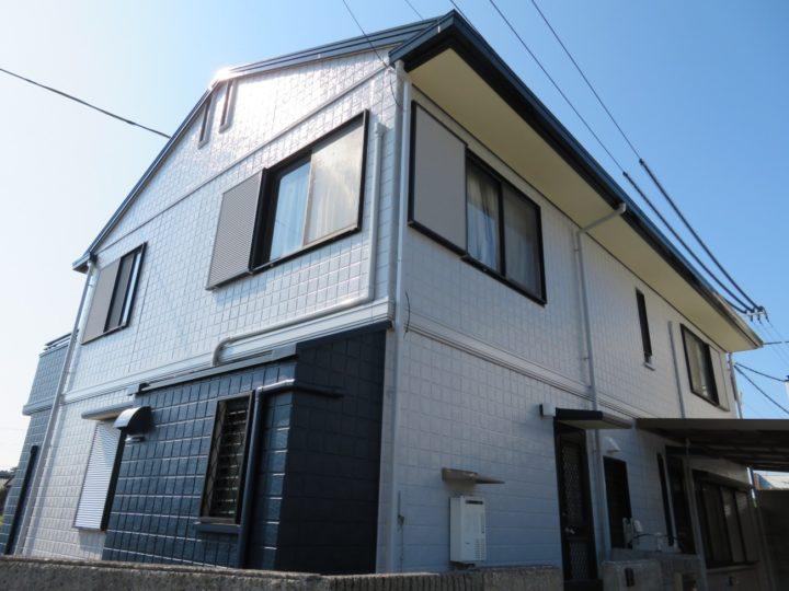 高知市長浜 h様邸 屋根塗装 外壁塗装工事