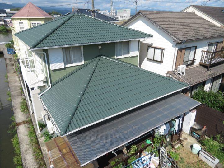 高知市高須 i様邸 屋根塗装 外壁塗装工事