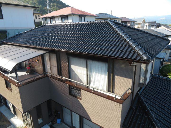 高知市潮見台 n様邸 屋根塗装 外壁塗装 ベランダ防水工事