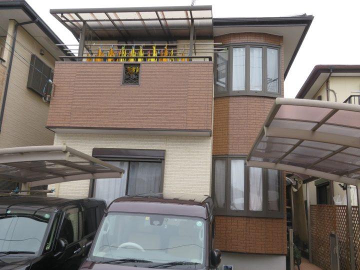 高知市長浜 y様邸 屋根塗装 外壁塗装工事