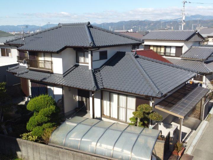 高知市介良 m様邸 屋根塗装 外壁塗装工事
