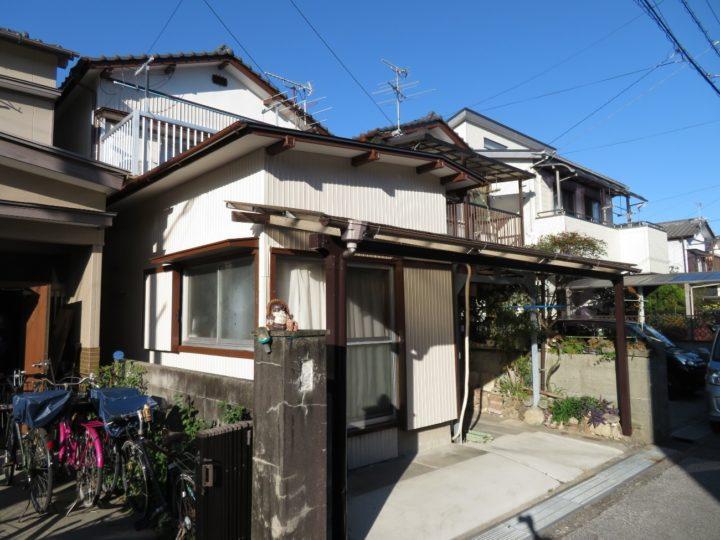 高知市高須 s様邸 水性シリコン塗料で金属サイディングを塗装しました