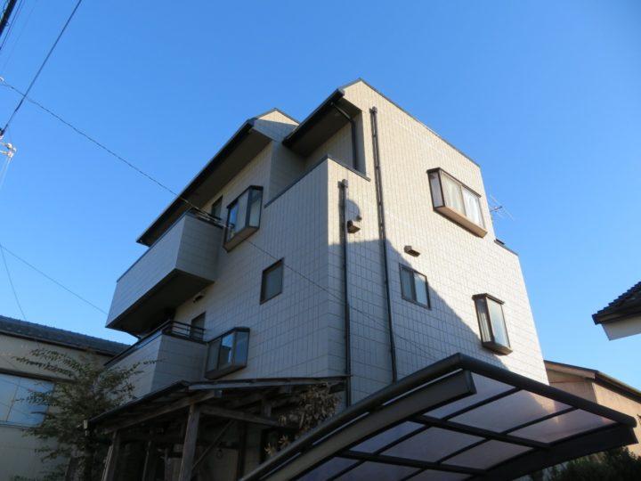 高知市曙町 w様邸 外壁塗装工事