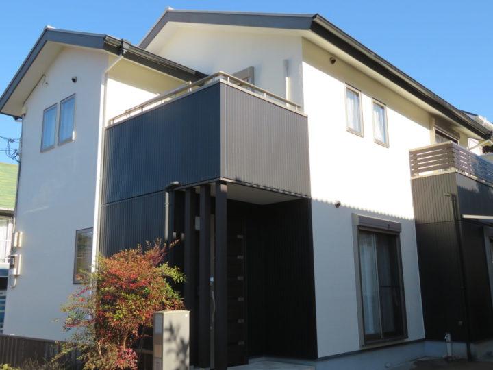 いの町 n様邸 屋根塗装 外壁塗装 遮熱効果のある塗料で施工したので省エネ効果があります。