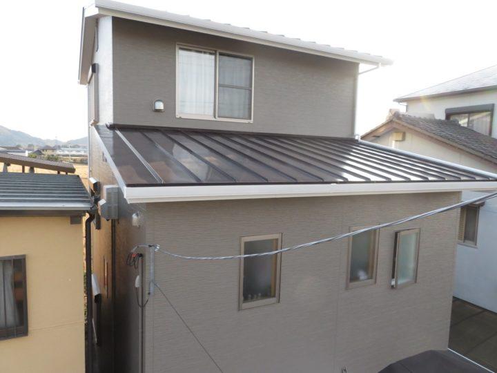 高知市高須 s様邸 屋根塗装 外壁塗装工事