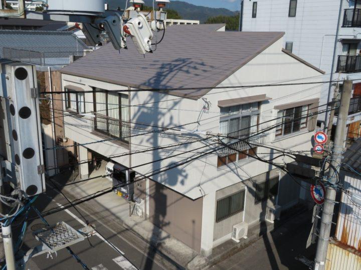 高知市元町 s様邸 屋根塗装 外壁塗装工事
