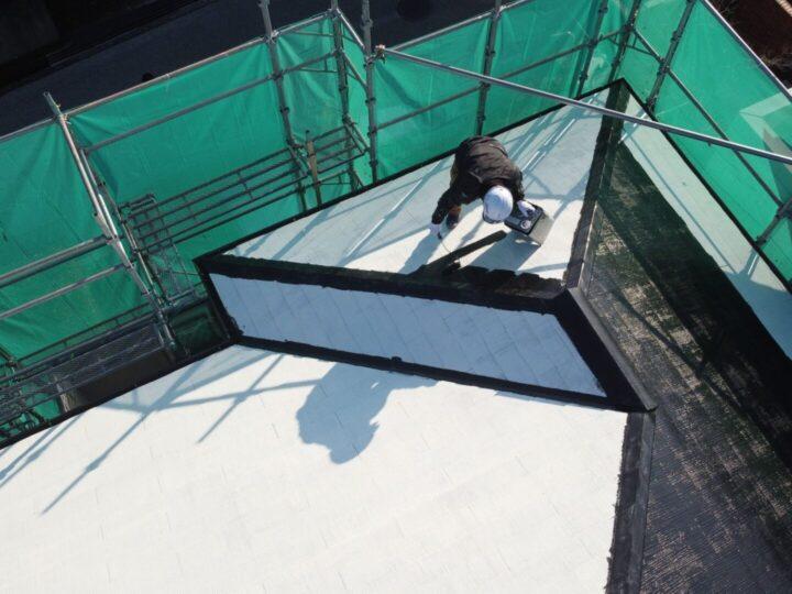屋根塗装香南市