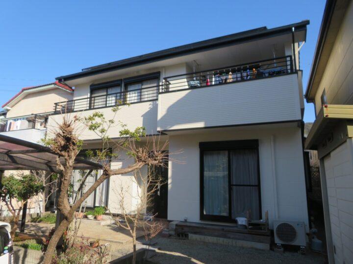 日本ペイントの高耐久塗料で塗装しました 高知市一宮 n様邸 外壁塗装工事