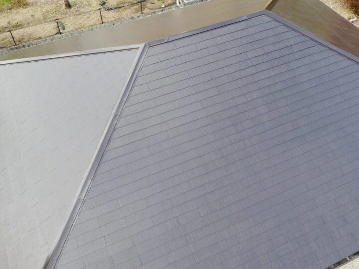 香美市 t様邸 経年劣化で色褪せした屋根を新築のような仕上がりに