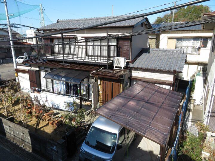 高知市神田 s様邸 屋根塗装工事 すべて水性塗料での塗装です
