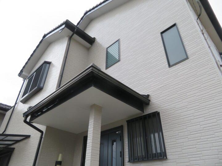 高知市東秦泉寺 o様邸 外壁塗装工事 無機塗料で上品な艶、仕上がりになりました。