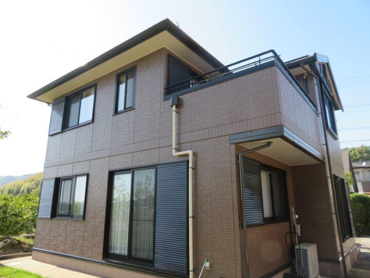 有機HRC樹脂塗料 T2(タテイル2)で屋根・外壁を塗装しました。香南市 a様邸 屋根塗装 外壁塗装工事