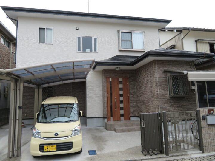 高知市万々 f様邸  プレマテックスの超耐候性次世代型無機塗料で外壁塗装 無機塗料専門メーカー