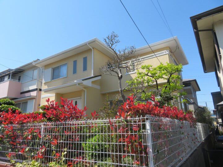 リピートの塗装依頼ありがとうございました。高知市潮見台 o様邸 屋根塗装 外壁塗装工事