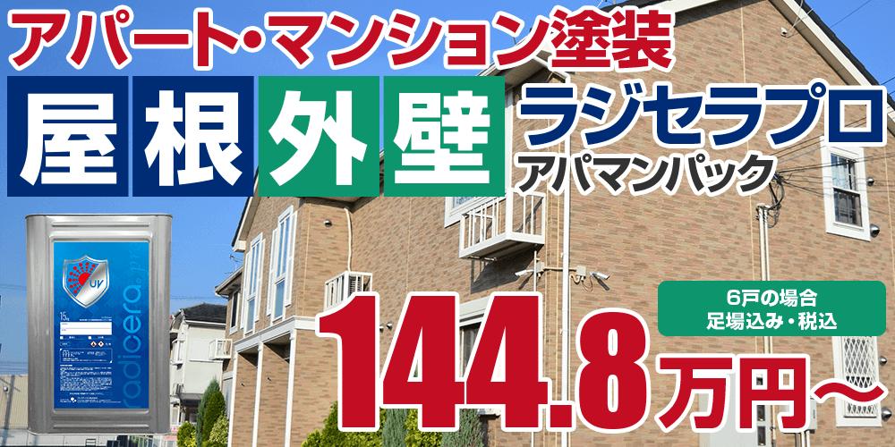 ラジセラプロアパマンパック塗装 142.7万円