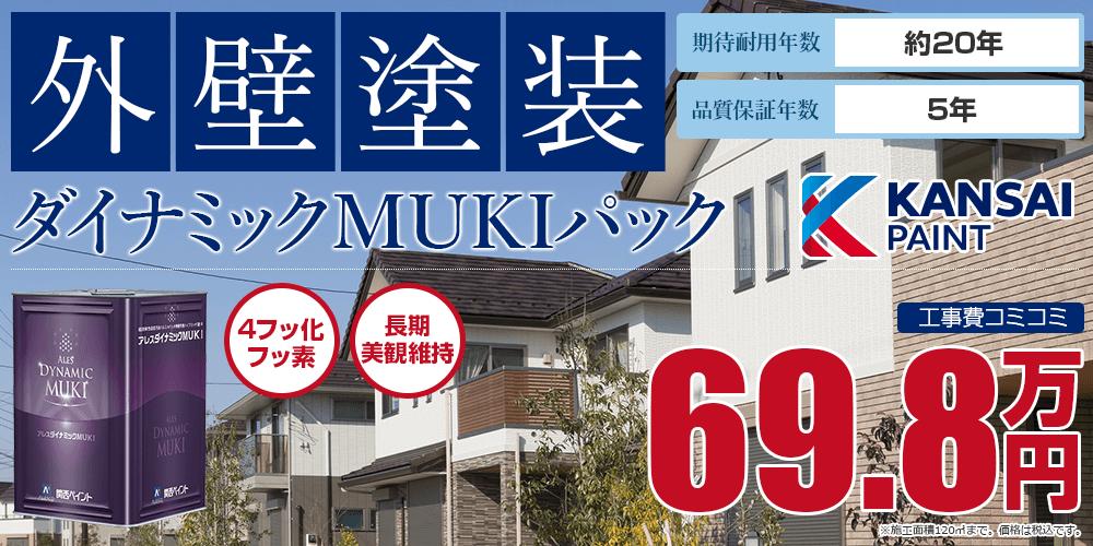 ダイナミックMUKIパック塗装 69.8万円