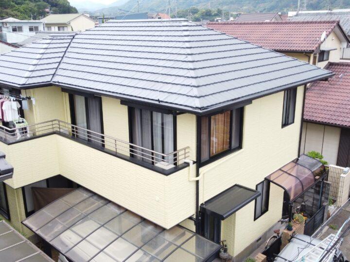 ダイナミックシリーズで屋根外壁を塗装しました 高知市新屋敷 a様邸 屋根塗装 外壁塗装工事