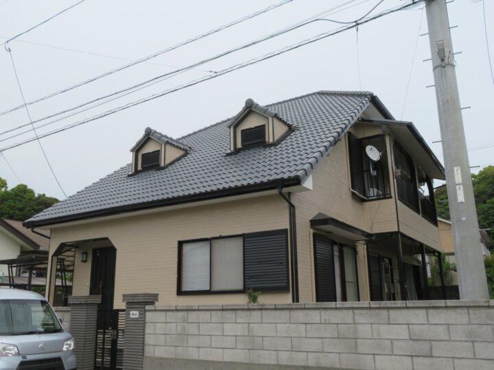 関西ペイントの高耐久塗料をキタペン標準仕様の4工程で塗装しました 高知市瀬戸 o様邸 外壁塗装工事