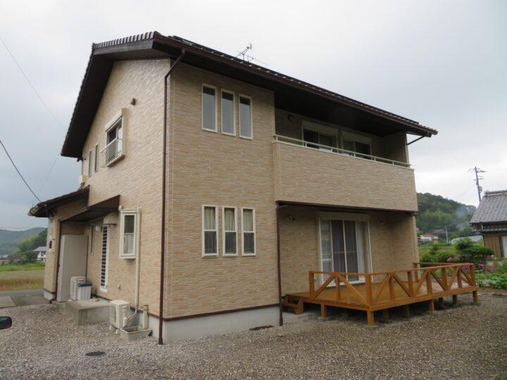 高知県 n様邸 外壁クリヤー塗装 タテイルアルファ美館プレミアムエディションが長期に渡り外壁サイディングを守ります!