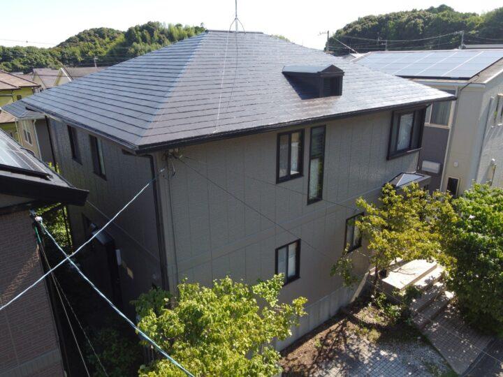 日本ペイントの高耐久塗料で塗装したました 高知市春野町 y様邸